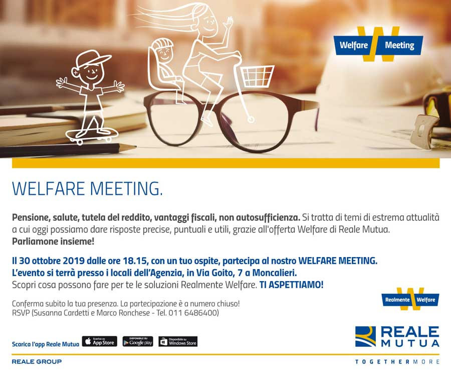 Bosso Assicurazioni - Meeting Welfare Famiglie